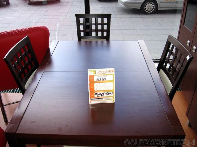 Stół do jadalni 120cm rozkładany do 180cm. Wysokość 76,5cm. Całkiem ładnie wyglądający ...