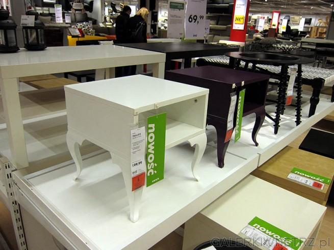 Stolik Trollsta, cena 200PLN - białym w starym stylu