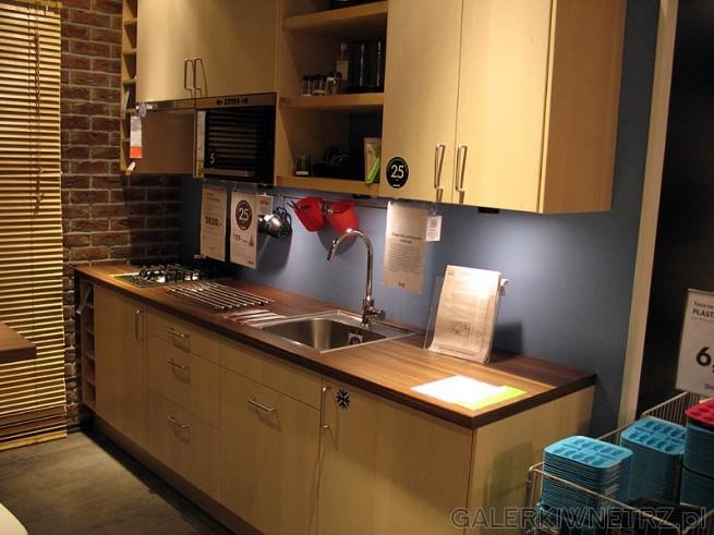 Tania kuchnia Ikea 2820PLN bez blatu, zlewu i AGD  GALERKIWNETRZ PL -> Kuchnia Ikea Tania
