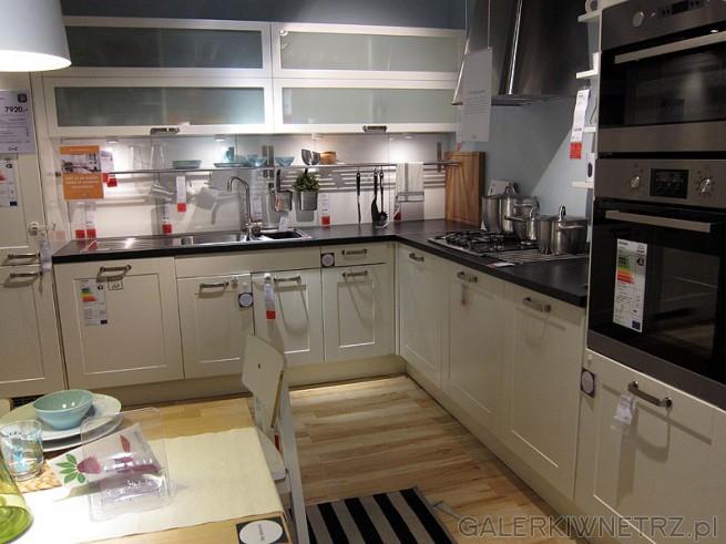 Duża narożna kuchnia około 6m długości Cena zestawu mebli ze zdjęcia 7920PLN   -> Kuchnia Ikea Tania