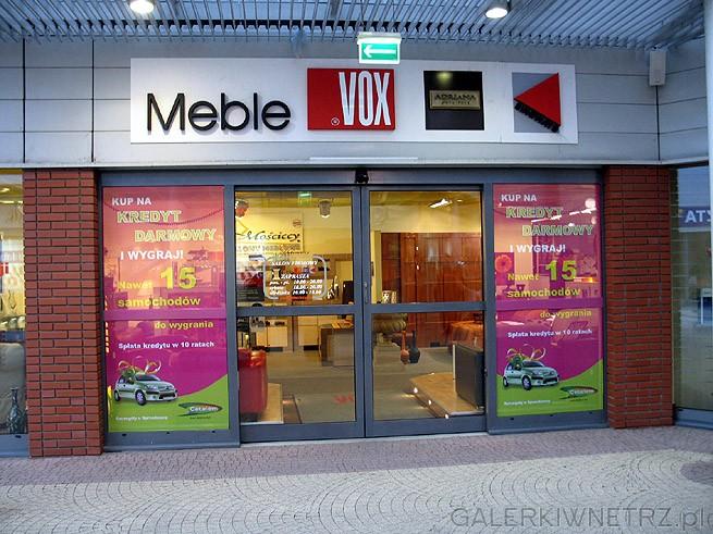 Mo�ciccy Salony Meblowe - jeden z wi�kszych dystrybutor�w mebli Vox