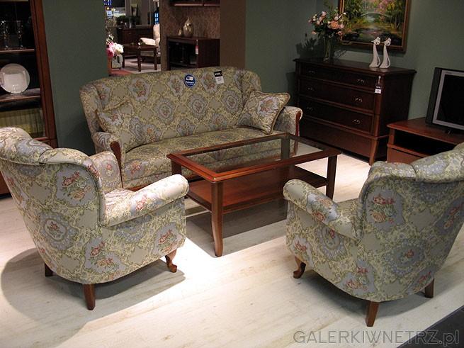 Zestaw wypoczynkowy w stylu klasycznym w cenie 4399PLN