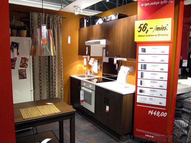 Kuchnia za 1450PLN - w Ikei