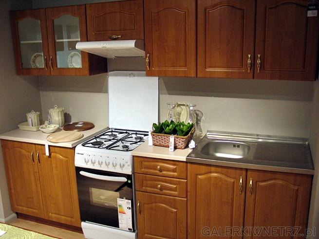Kuchnia Nika BRW w kolorze Olcha miodowa Cena mebli widocznych na zdjęciu 10