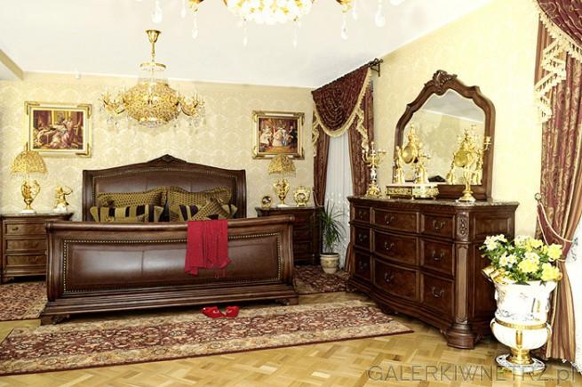 Szultka Furniture przedstawia wykonaną w pięknym stylu i z wdziękiem sypialnię model ...