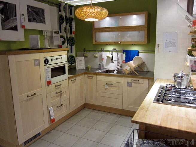 Kuchnia, kolor ścian - zielony