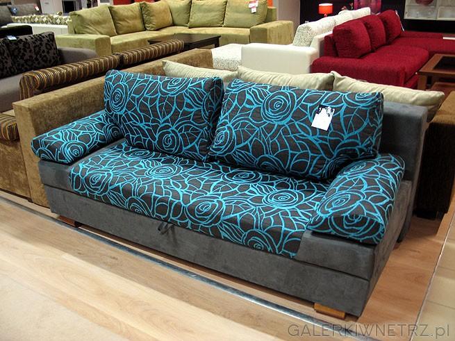 Sofa 3DL Predo GR-3. Materiał obiciowy Szenil. Powierzchnia spania 200x144cm. Cena ...
