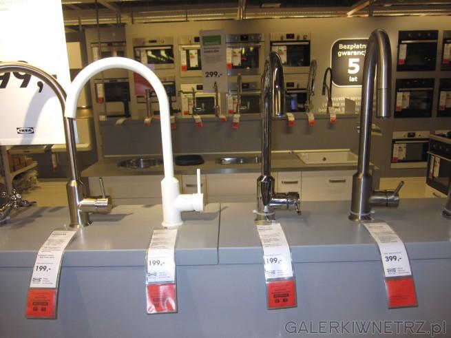 Baterie kuchenne w kilku wariantach: stalowa RINGSKAR, biała RINGSKAR, chromowana ...