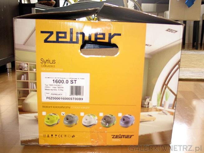 Zelmer produkuje odkurzacz Syrius w kilku wersjach - różnią się kolorem a kolor ...