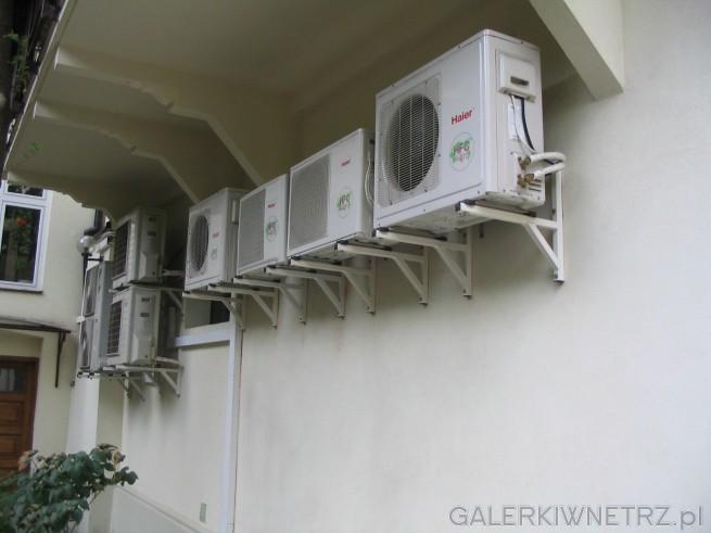 Ściana klimatyzatorów - zastosowanie przemysłowe czyli sklepy lokale użytkowe - ...