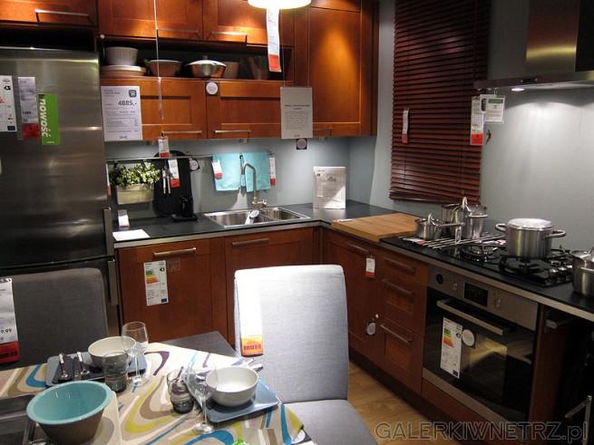 4885PLN za meble ze zdjęcia (bez AGD)  GALERKIWNETRZ PL -> Kuchnia Ikea Tanio