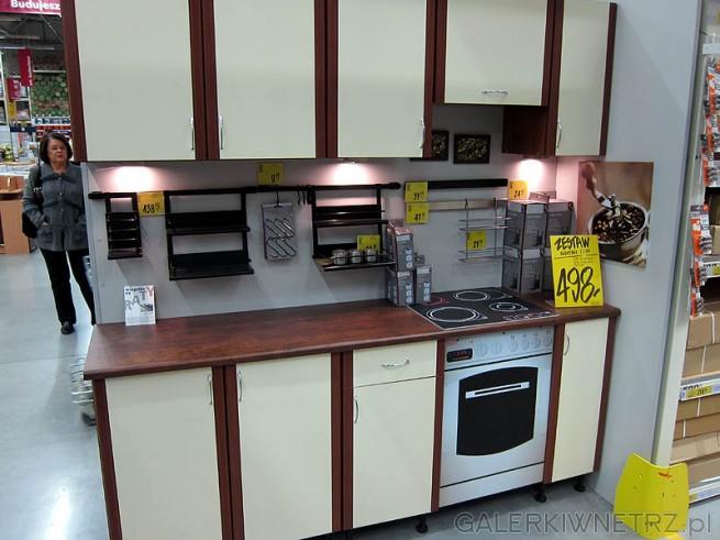 Najtańsza kuchnia  zestaw mebli Eliza, cena 498PLN (bez   # Kuchnie Castorama Cena