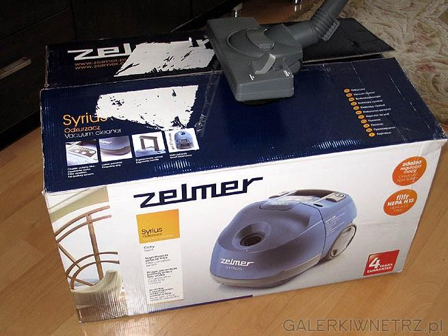 Zelmer produkuje odkurzacz Syrius (Syriusz) w Polsce. Jest to jedną z jego zalet. ...
