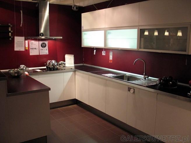 Kuchnia Faktum Nexus Solar (IKEA) Cena kuchni ze zdjęcia to 14210PLN Taka z   -> Kuchnia Orzech Amerykanski Cena