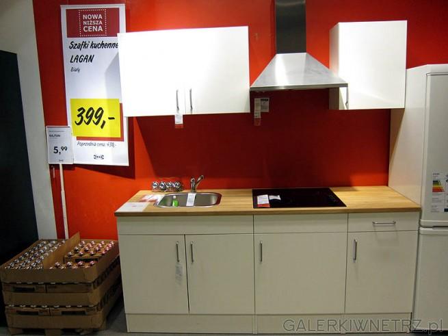 Najtańsza kuchnia - cena szafek kuchennych Ikewa Lagan - 400PLN