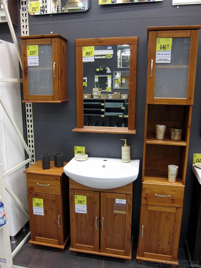 Cena mebli do łazienki ze zdjęcia - sumarycznie około 2000PLN