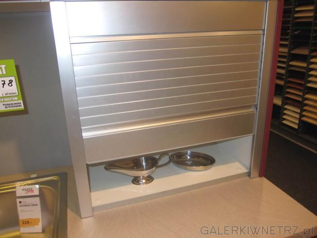 Roleta w szafce kuchennej