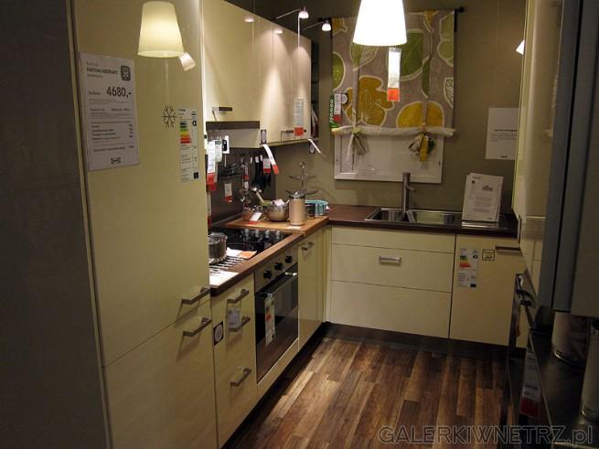 Zestaw mebli kuchennych Ikea Faktum Abstrakt cena 4680 pln za zestaw ze zdjęcia