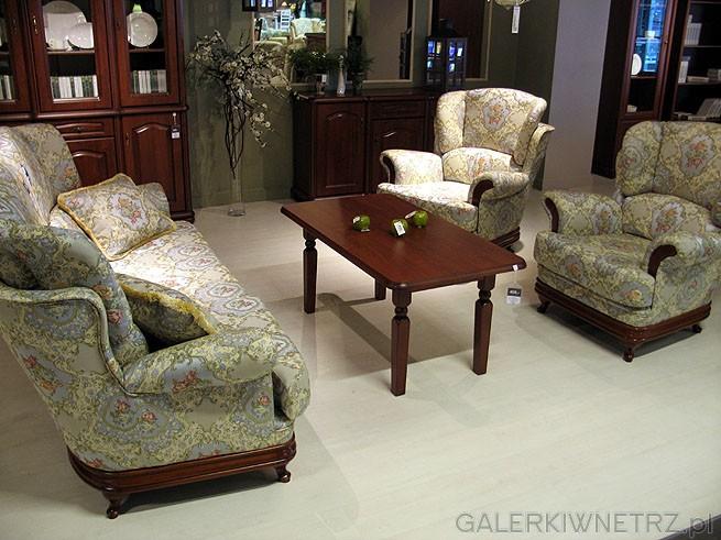 Zestaw wypoczynkowy Werona 3+1+1: Sofa i dwa fotele. Cena 6199PLN. Materiał Szenil/Żakard.