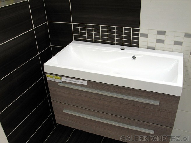 Szafka pod umywalkę z szufladami