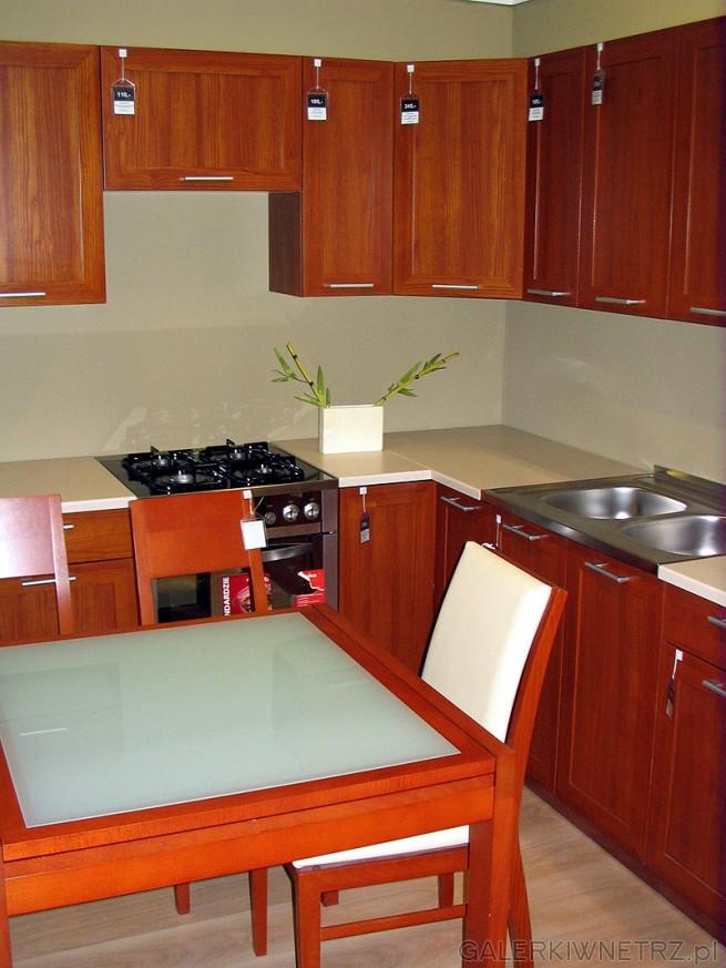 Tania kuchnia BRW z zestawem szafek górnych i dolnych. Cena poszczególnych szafek: ...