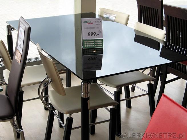 Stół szklany TB916, cena 999PLN wymiary 160x75x100cm