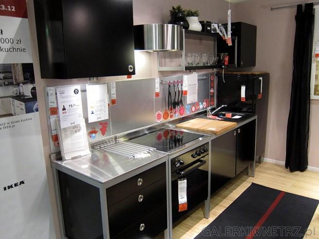 Nowoczesne Kuchnie Ikea  GALERKIWNETRZ PL -> Kuchnia Ikea Tania
