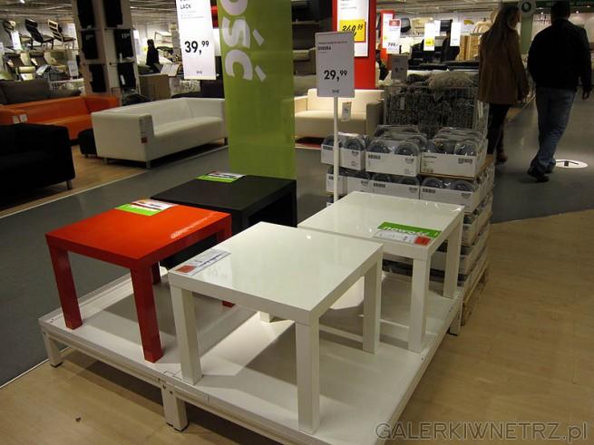 Różne stoliki kwadratowe w cenie 30PLN