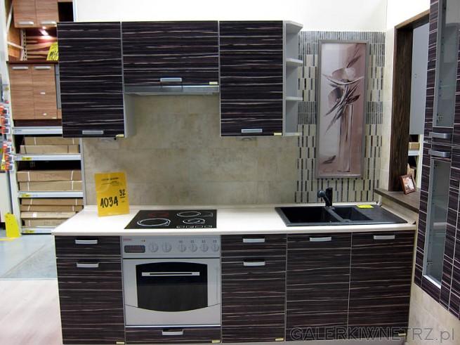 Zestaw kuchenny cena 1034PLN bez blatu i AGD