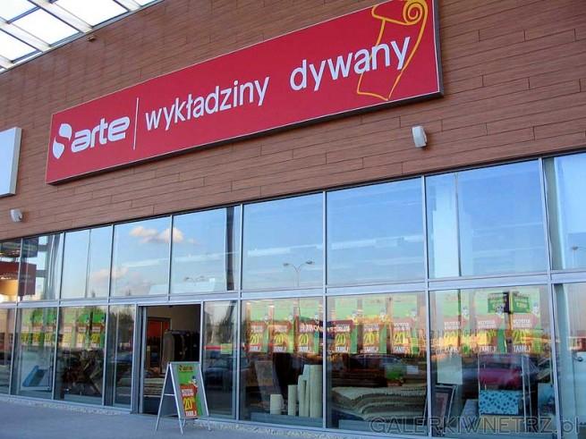 Arte wykładziny dywany. Dwa sklepy w Warszawie - Okęcie i Targówek.
