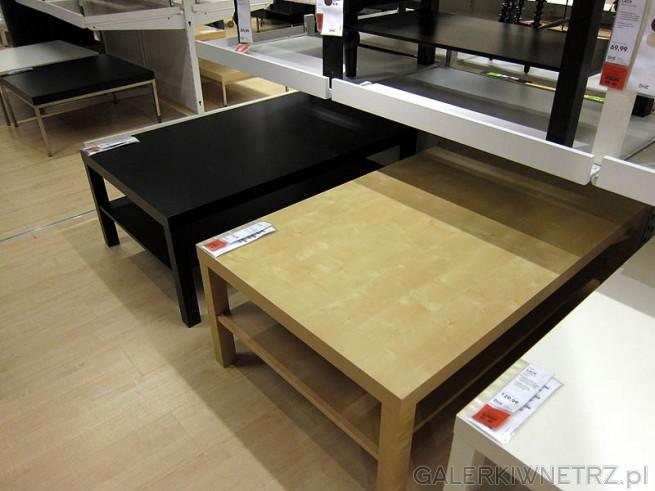 Różne stoliki dostępne w Ikea