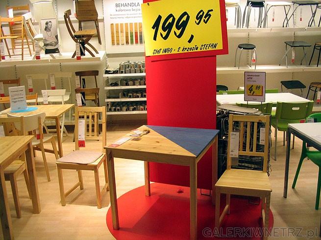 Tani stół dla max 4 osób. Z 2ma krzesłami kosztuje 200PLN