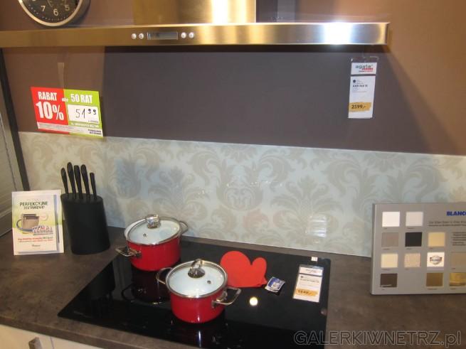 Propozycja kuchni w bielach, szarościach i srebrzystych kolorach od Agaty Meble. ...