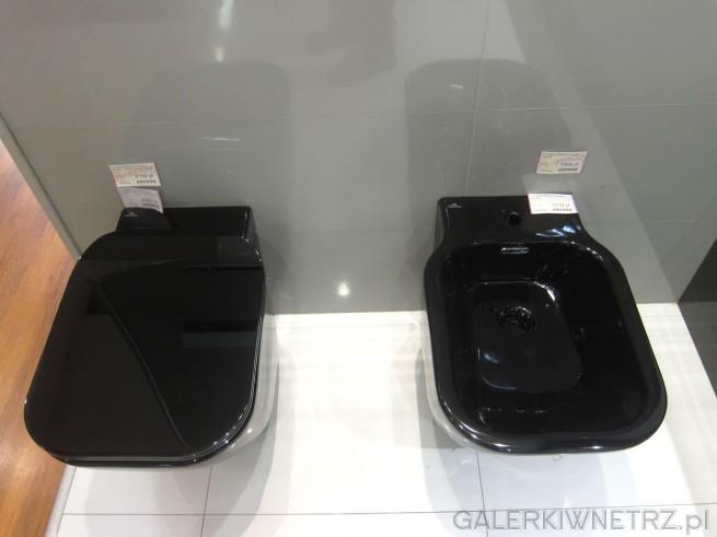 Czarne urządzenia sanitarne Akcess - miska WC czarna w promocyjnej cenie 2199 złotych ...