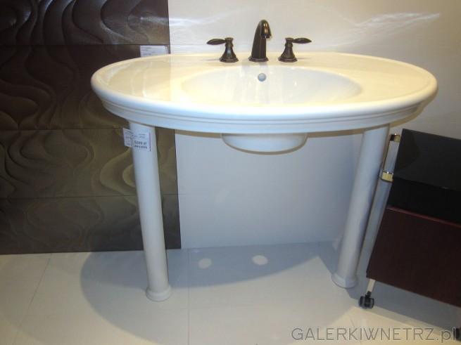 Niezwykła umywalka, bardzo gustowna, która będzie świetnąozdobą do łazienki. Jej ...