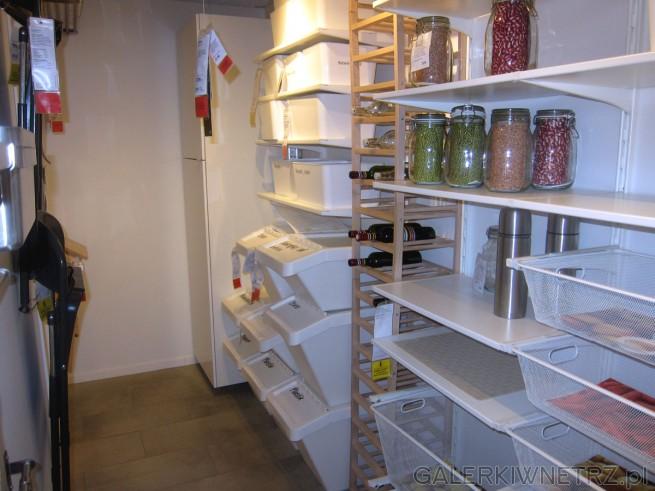 W Ikea znajdziemy mnóstwo pomysłów na przechowywanie i organizacjęnaszej domowej ...