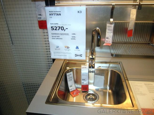 Meble kuchenne HYTTAN to meble wykonane z dębu. Podstawowa cena mebli to 5270 złotych ...