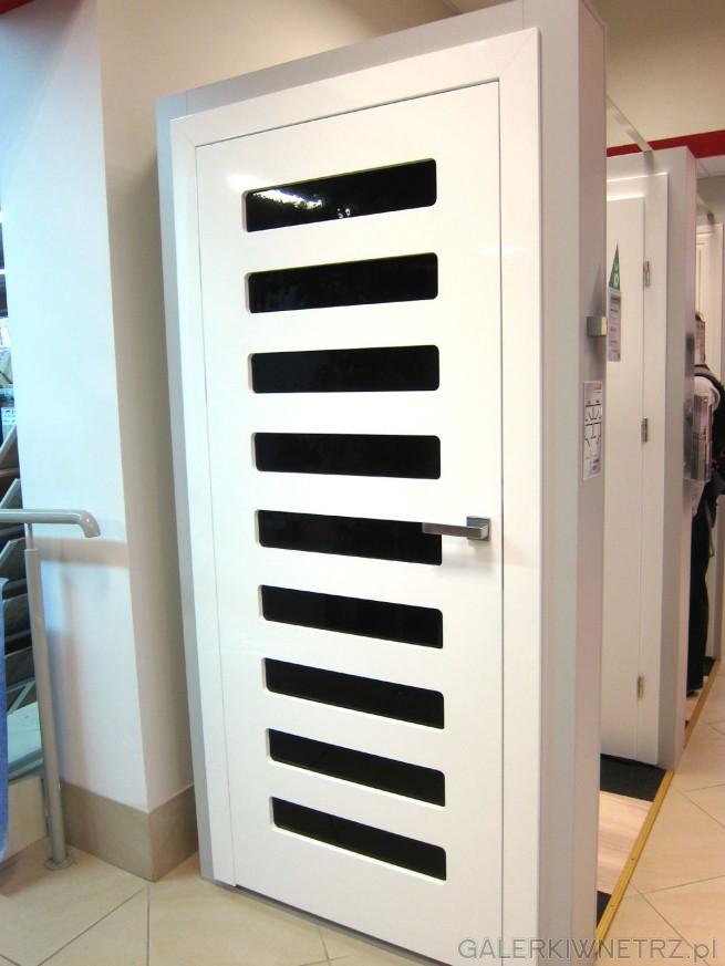 Białe drzwi PREMIUM, drzwi typu bezprzylgowe, wewnętrzne, o minimalistycznym wyglądzie, ...