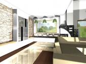 Projekty wnętrz, wizualizacje architekta wnętrz