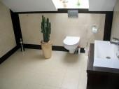 Wyposażenie łazienek - widna łazienka na poddaszu