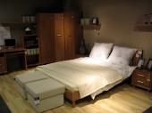 Sypialnie BRW Black Red White, łóżka dwusobowe, meble do sypialni, dekoracje do sypialni