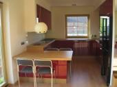 Otwarta kuchnia z jadalni� - Aneks kuchenny w domu jednorodzinnym, projekt: dodazdrowia