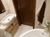 Mała łazienka 3m2 Alabastrino Tubądzin Projekt