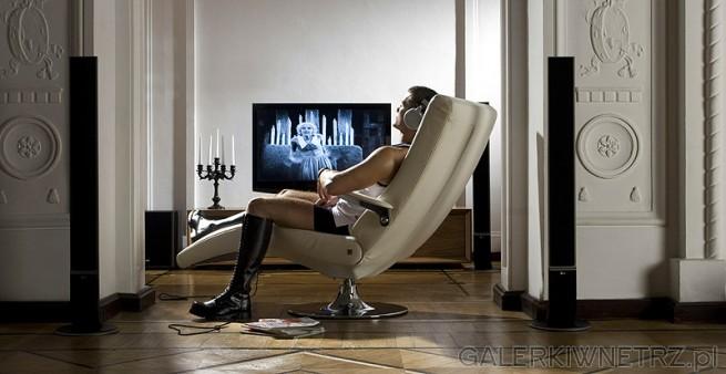 D020 Ekskluzywny fotel wypoczynkowy stworzony do wylegiwania się i relaksu. Melodyjnie ...