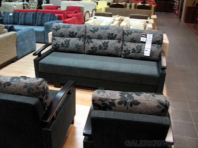Sofa 3 Max x GR-4, materiał obiciowy Szenil. Powierzchnia spania 190x155cm. Cena ...