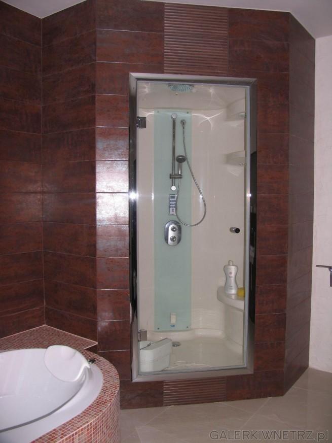 Kabina prysznicowa Riho 2 z sauną  parową (łaźnią)