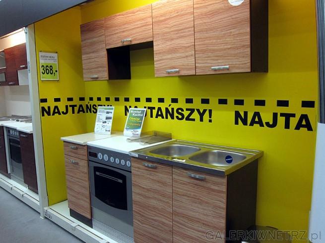 Kuchnia Oliwia 1,8m Oliw/Wen cena mebli 368PLN. Nowoczesny zestaw kuchenny posiadający ...