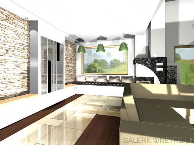 Duże przestrzenie w mieszkaniu - wizualizacja