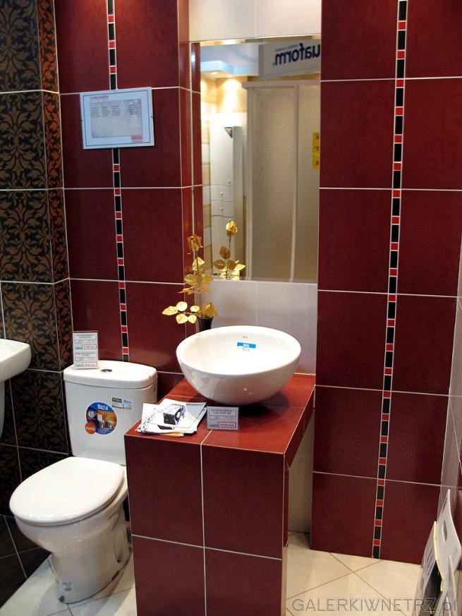 WC kompaktowy Roca Victoria. Cena około 500PLN. Umywalka nadblatowa okrągła (w ...