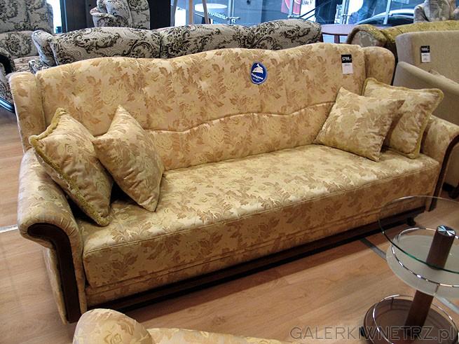 Zestaw wypoczynkowy 3+1+1 czyli 3 osobowa sofa i 2 fotele. Cena zestawu 5799PLN. ...